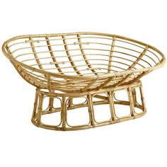 Double Papasan Chair Frame - Natural $138. Appears to be regular price.