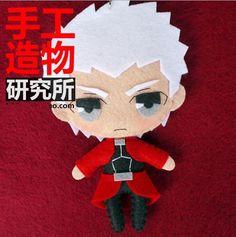 Anime Fate/Stay night Emiya Archer DIY toy Doll keychain DIY Material $17.10