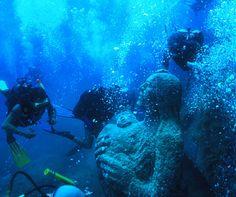 Underwater blessing