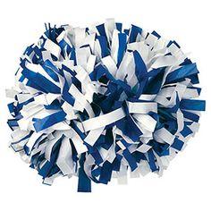 "6""+Plastic+2+Color+Baton+Handle+Cheerleading+Pom by Cheerleading Company"