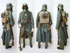 german ww1 uniforms; i scrolled past this and thought it was boba fett