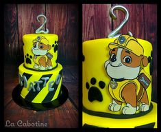 Paw Patrol cake, Rubble