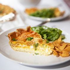 Quiche Recipes, Tart Recipes, Cooking Recipes, Leek Tart, Tastemade Recipes, American Dinner, Stuffed Green Peppers, Cookies, Macaroni And Cheese