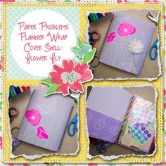 Planner wrap covers & more for Erin Condren, Plum paper, inkwell press, limelife, simplified life, arc, mambi happy planner & more. Visit my Etsy listing at https://www.etsy.com/listing/229325781/clearance-flower-fly-wrap-planner-cover