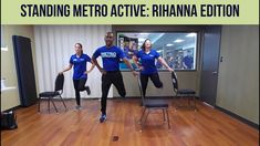 Arthritis Exercises, How To Stay Healthy, Rihanna, Chair, Youtube, Exercises, Stool, Youtubers, Chairs
