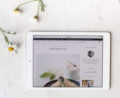 All new! Relaunch & new blog design {flowers on my plate}