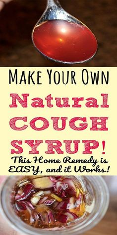 How to Make Natural Cough Syrup, Throat Soothing Too!