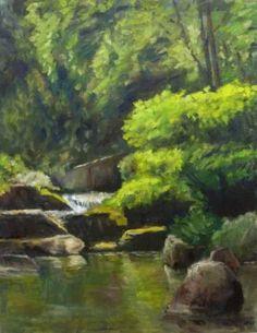 Original Landscape Painting by Ellen Fasthuber-huemer Oil Painting On Canvas, Canvas Art, Original Paintings, Original Art, Impressionism Art, Photorealism, Buy Art, Saatchi Art, Fine Art
