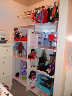 american girl doll house ideas | Lori recently posted a review of two of the new Zeenie Dollz, Evee and ...
