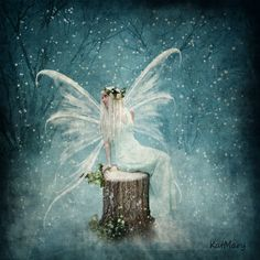Winter fairy by katmary.deviantart.com on @deviantART