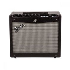 Fender Mustang III Guitar Combo Amplifier: With a plethora of onboard effects and amp models, the flexible and diverse pallete of the Mustang III will give your tone unlimited possibilities. Fender Mustang Guitar, Fender Guitars, Guitar Amps For Sale, Acoustic Bass Guitar, Usb Microphone, Ableton Live, Bass Amps, Guitar Collection, Marshall Speaker