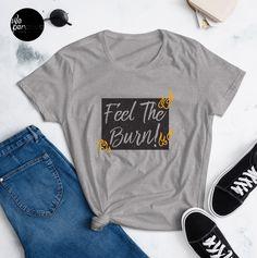 "► FEATURES • 100% jersey knit • Pre-shrunk • Seamless, double-need ⅞"" collar • Taped neck and shoulders • Classic fit . #workoutfashion #feeltheburn #weperceivestyle  #tshirtfashion  #apparelbrand  #tshirtshop  #teeshop  #streetfashionsource  #streetwearsource  #streetfashions  #streetweardaily  #streetfashionstyle  #streetfashionwomen  #girlsfashion #womanfashion  #girlstee #girltee #womentees #tshirtonline #streetwear #streetlook #urbanwear #tee #tees #teeshirts"