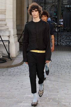 Haider Ackermann Spring 2016 Menswear Fashion Show - Piero Mendez