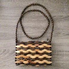"""Boho beaded wooden small purse New. Unique boho style purse made with wooden beads, measurements: approx. 7""""x 5"""" big. Thank you for visiting my closet, please let me know if you have any questions. I offer great discounts on bundles  Boutique Bags Mini Bags"""
