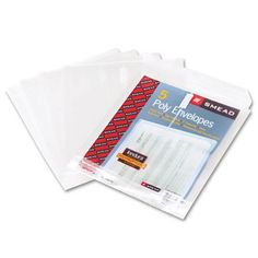 """Smead Top-Load Envelopes with 1-1/4"""" Expansion"""