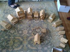 Popsicle Stick Western Town - Imgur