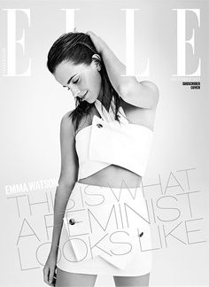 "marcs-jacobs: "" Emma Watson Covers Elle U.K - ""This is what a feminist looks like"" """
