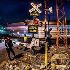 Estação de trem Água Branca by @memoriasvisuais  #saopaulocity #estacaoaguabranca