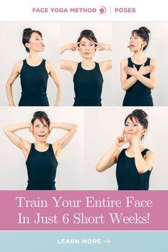 Start now! #facialexercises Diy Skin Care, Skin Care Tips, Face Yoga Method, Face Yoga Exercises, Face Tone, Beauty Tips, Beauty Hacks, Facial Yoga, Facial Care