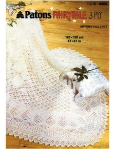 Wholesale Baby Christening Shawl with instructions for and yarn 47 x 47 inches - PDF of Vintage Knitting Patterns - Baby Knitting Patterns, Shawl Patterns, Baby Patterns, Craft Patterns, Christening Blanket, Baby Christening, Crochet Baby Shawl, Crochet Pattern, Vogue Knitting