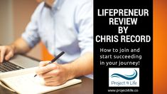 Lifepreneur Review by Chris Record – How to Become an affiliate and earn big commission in 2018 with LifePreneur – Project 4 Life Project 4, 4 Life, How To Become, About Me Blog, Writing, Big, Check, Being A Writer, Letter