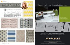 June_July 2012 | Lonnymag.com    Some great, inexpensive rug options