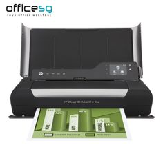 Buy HP Officejet 150 Mobile All-in-One Printer Online. Shop for best All In One Printers online at Officesg.com. Discount prices on Office Technology Supplies Singapore, Free Shipping, COD.