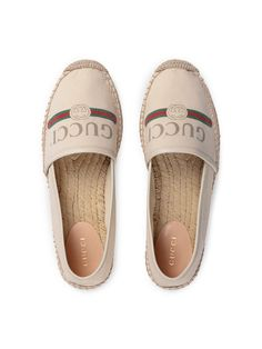 Gucci Gucci Logo Canvas Espadrilles. Espadrille Shoes ... b051eaaaade