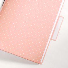 make a file folder into a blank book // wild olive