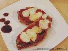 Cotolette di pollo alla parmigiana
