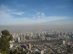 See the city from up high - Santiago, Chile
