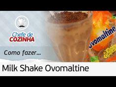 Como fazer Milk Shake de Ovomaltine do Bobs (Versão do Chef) | Por: Chef...