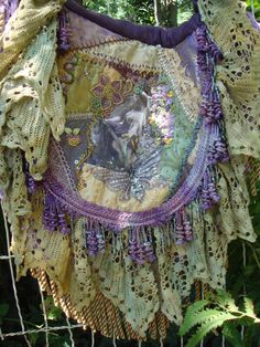 Boho Gypsy Bag Bohemian – Purses And Handbags Boho Gypsy Bag, Boho Gypsy, Gypsy Style, Bohemian Bag, Gypsy Decor, Bohemian Style, Crazy Patchwork, Crazy Quilting, Lace Purse