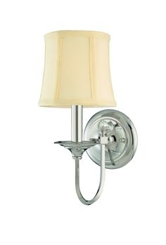 View the Hudson Valley Lighting 1811 One Light Wall Sconce from the Rockville Collection at LightingDirect.com.