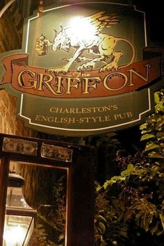The Griffon, #Charleston #ilovepubs - great spot for a beer before hopping to The Library
