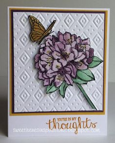 Best Thoughts by Sweet Irene - Cards and Paper Crafts at Splitcoaststampers