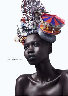 Philip Treacy Avant Garde Hat - I have dabbled in circus themed pieces myself - this is awesome!
