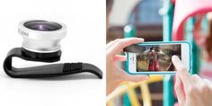Gizmon ica Fish Eye Lens (Clip-On Lens), see more here http://photodoto.com/gifts-for-photographers/