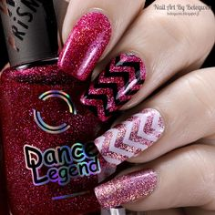 Nail Art by Belegwen: Dance Legend Party Time and Hysteria