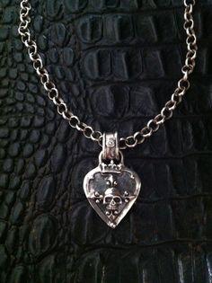 Sterling Silver Guitar Pick Designer Jewelry by Roman Paul #romanpaul
