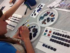 Montreal, Workshop, Watercolor, Adventure, Quebec, Colour, Spring, Art, Pen And Wash