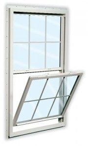 Reliabilt 150 Vinyl Double Pane Single Strength New Construction Egress Single Hung Window (Rough Opening: X Inexpensive Kitchen Remodel, Simple Kitchen Remodel, Ikea Kitchen Remodel, White Kitchen Remodeling, Kitchen Designs Layout, Single Hung Windows, Kitchen Remodel Layout, Brick Molding, Window Installation