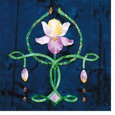 art nouveau iris design | Art Nouveau Tiles