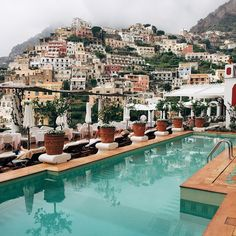 Best part about traveling is staring at beautiful views like this. / Positano, Italy /  by @grantlegan