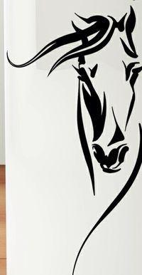 Love this look, gorgeous horse tattoo idea