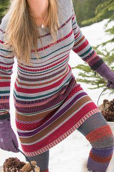 sale retailer 8c3bd 00cab Title Nine  Tallchief Sweater Dress - Elegant in its simplicity, the  Tallchief is no