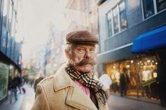 Amsterdam passersby by Andrew Kovalev, via Behance