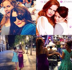 Rebecca Mader & Emilie de Ravin Ouat Cast, Emilie De Ravin, Female Protagonist, Queen, The Real World, Prince Charming, Best Shows Ever, Once Upon A Time, Tv Series