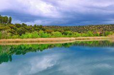 La delgada línea... Laguna Batana #nature #photography