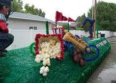 Parade float ideas
